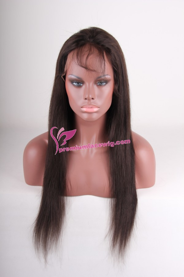 Indian virgin hair lace wig PWS206