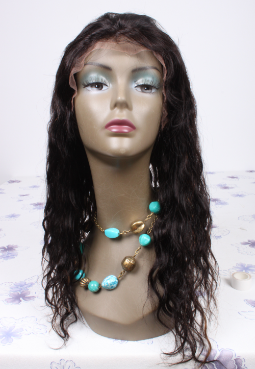 18inch color1B highlight#30 Brazilian hair lace front wig