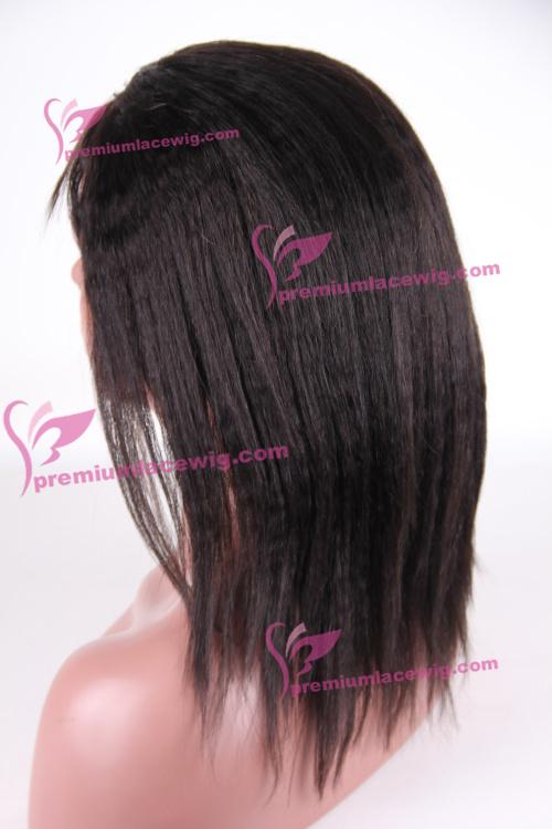 10inch Malaysian hair wig Italian yaki PWS1001
