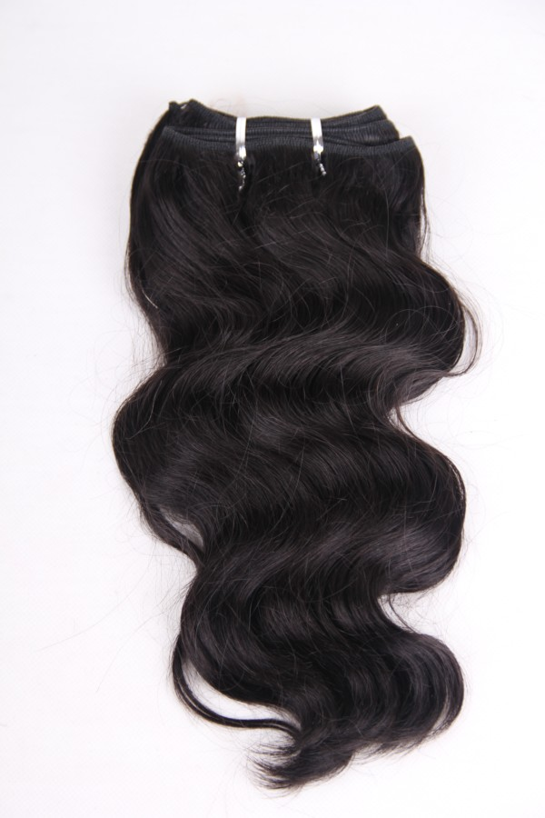 12inch Natural Color Body Wave Brazilian Hair Weft