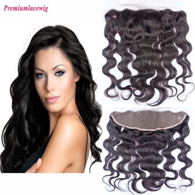 14 inch Body Wave Malaysian Hair 13x4 Lace Frontal