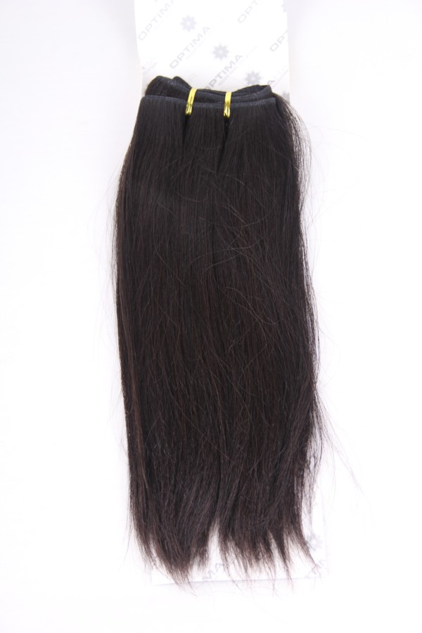 14inch 1b medium yaki Indian hair weft PWC270