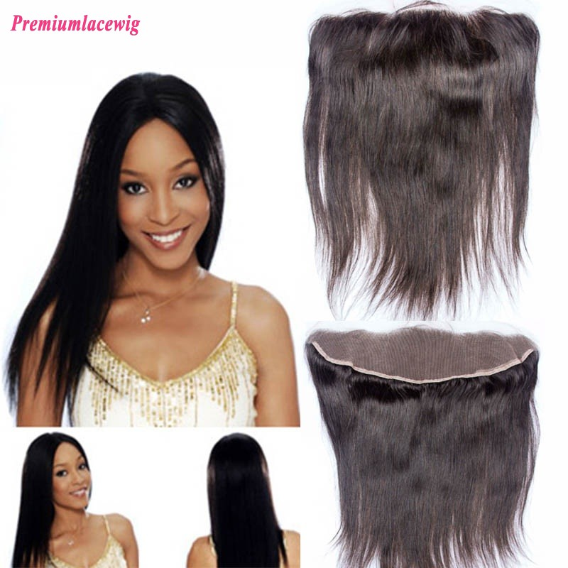 16 inch Straight Malaysian Hair 13X4 Lace Frontal