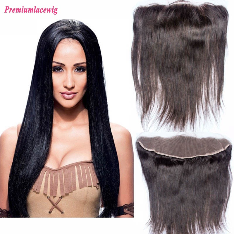 Straight Lace Frontal Peruvian Hair 13x4 16inch