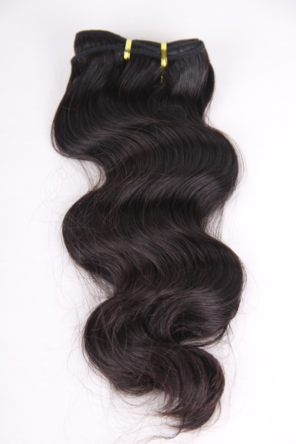 16inch 1b# body wave human hair weft PWS272