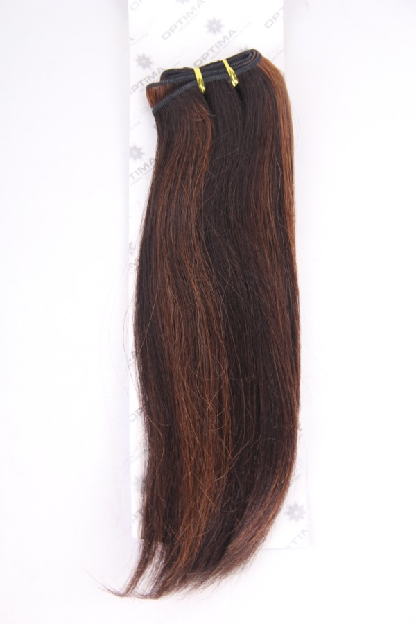16inch 2/33# indian hair weft PWC277
