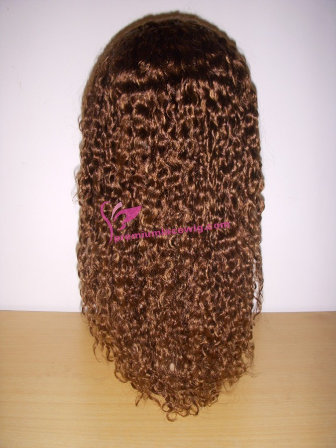 16inch color 30 Deep Curly full lace wig PWS387