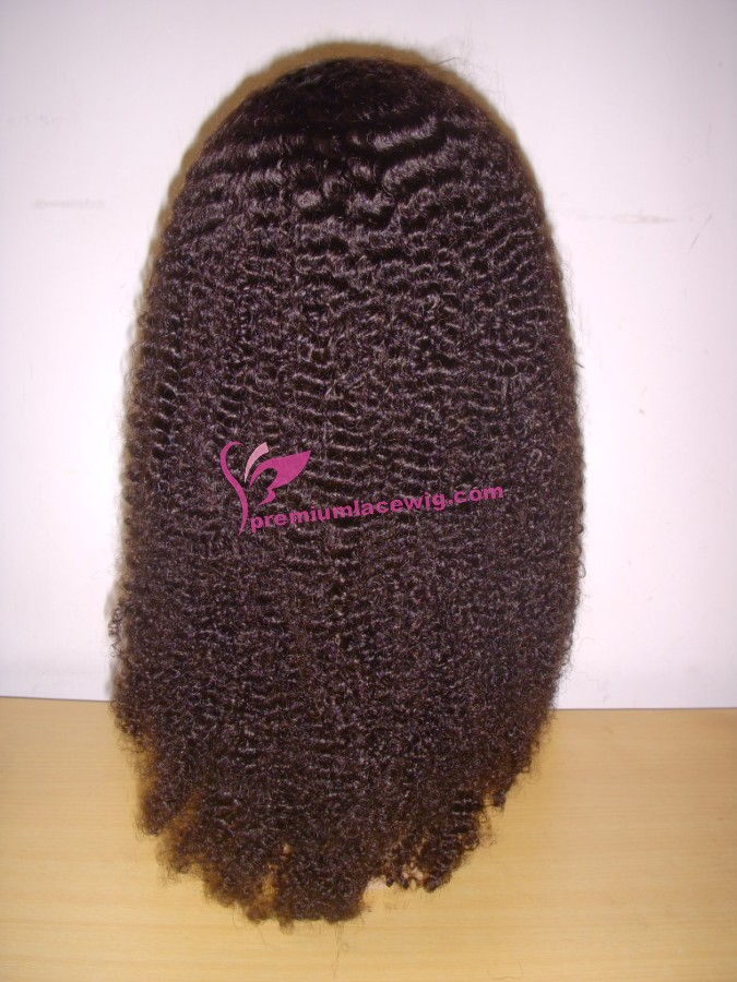 16inch color2 afro curl full lace wig PWS344