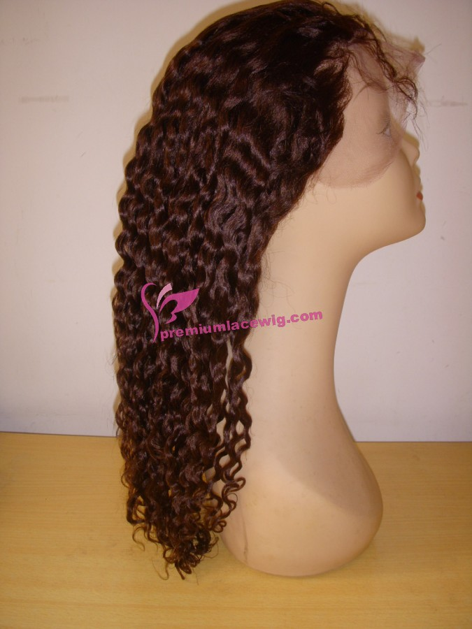 16inch color2 spainsh wave full lace wig PWS351