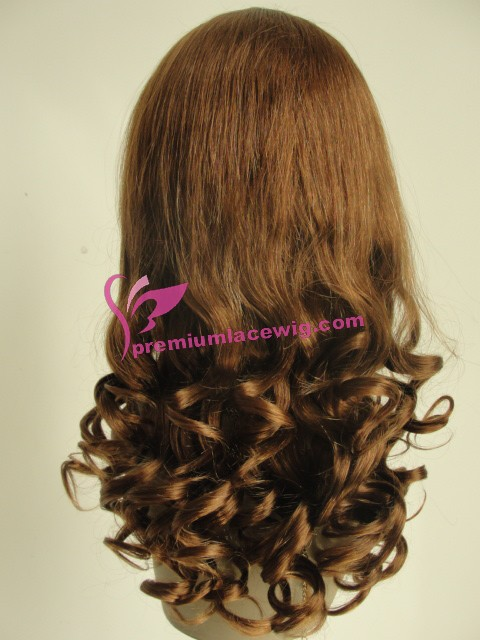18inch 30# french curl full lace wig PWC366