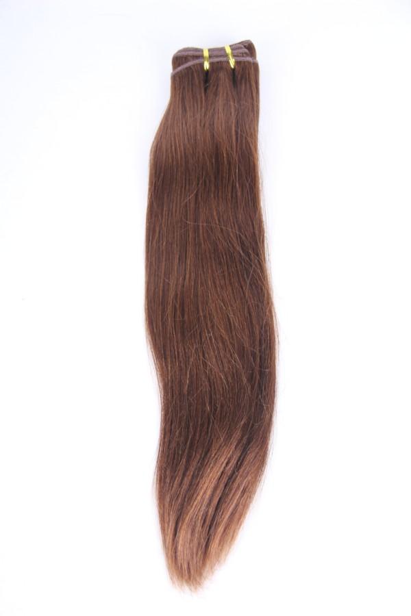 18inch 6# yaki Malaysian hair weft PWC282