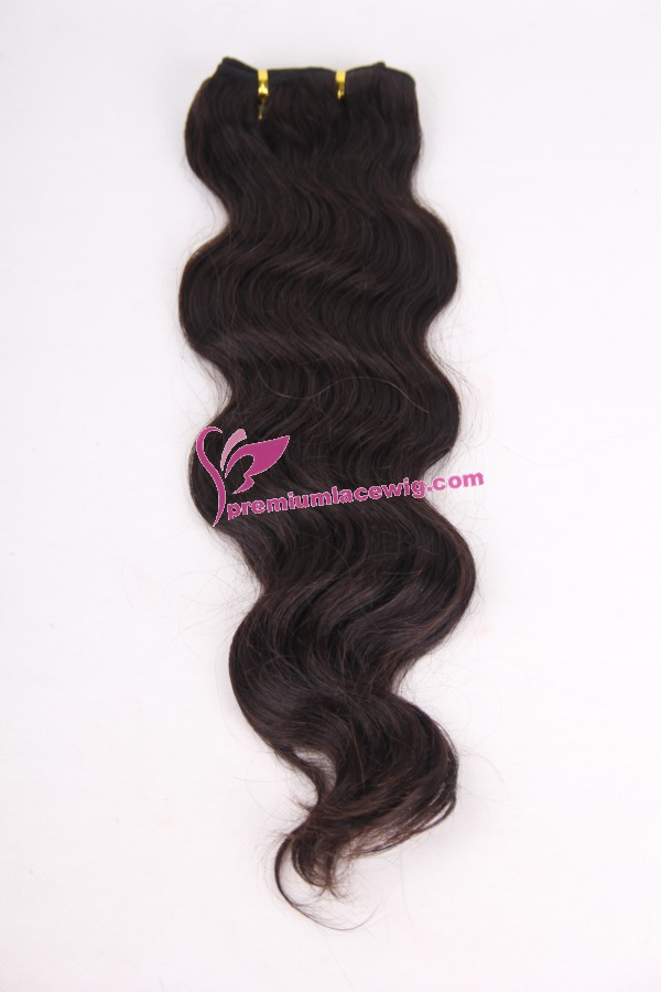 18inch body wave hand made hair weft PWC297