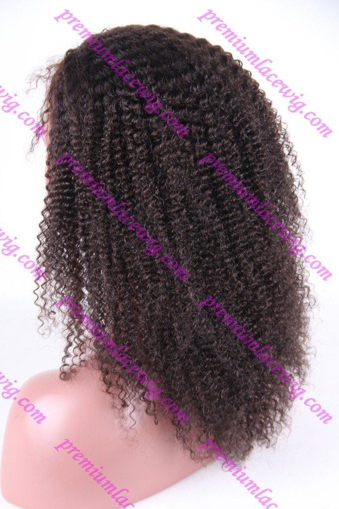 18inch Brazilian curly full lace wigs PWS1045
