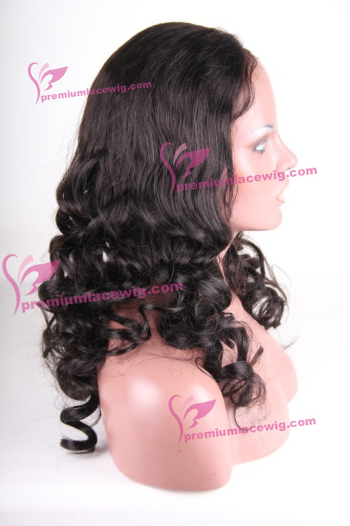 18inch color 1b Malaysian Body Curly hair