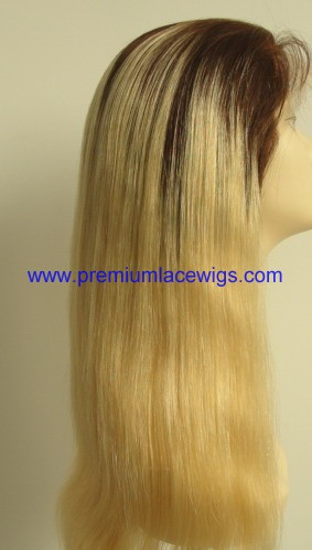 18inch root color full lace wig PWC441