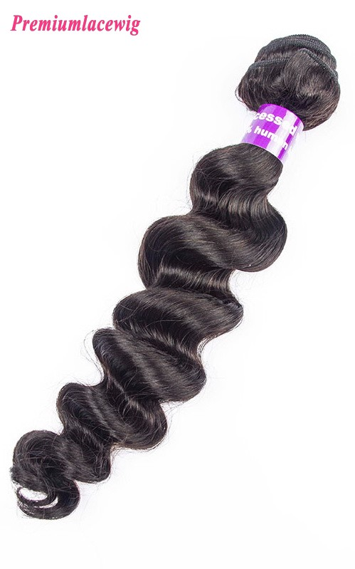 1pc/lot 16 inch Loose Wave Brazilian Hair Human Hair Bundles