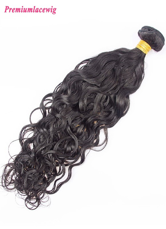 1pc/lot 16 inch Water Wave Malaysian Hair Human Hair Bundles