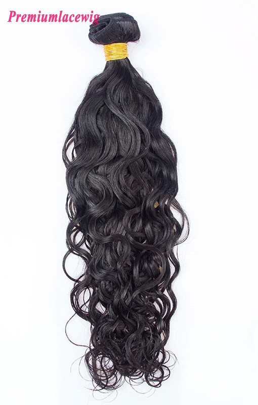 1pc/lot 18 inch Water Wave Brazilian Hair Human Hair Bundles