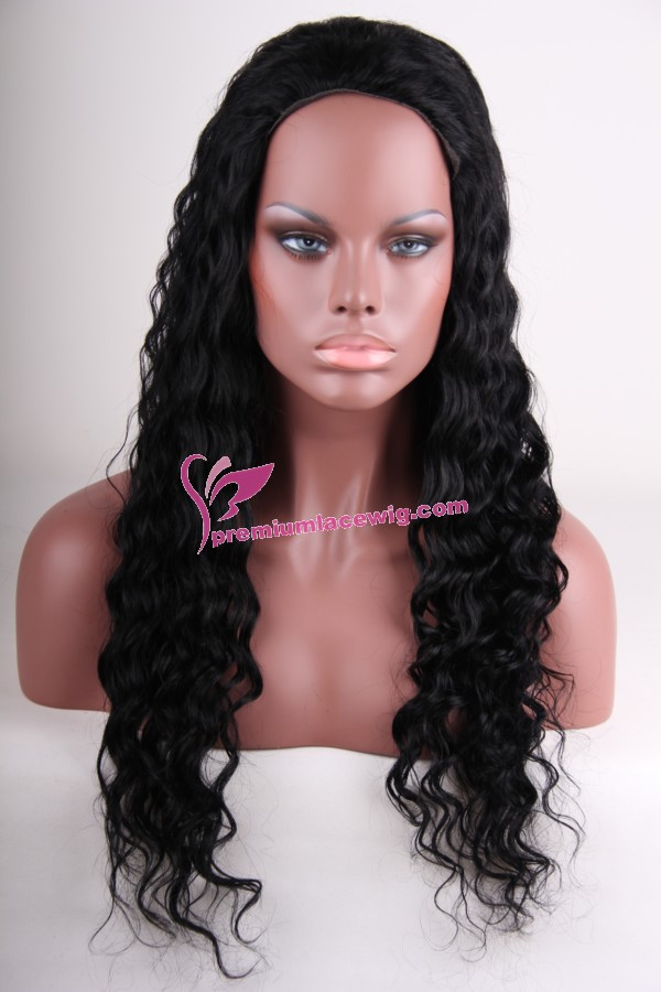 20inch 1# loose wave full lace wig PWS393