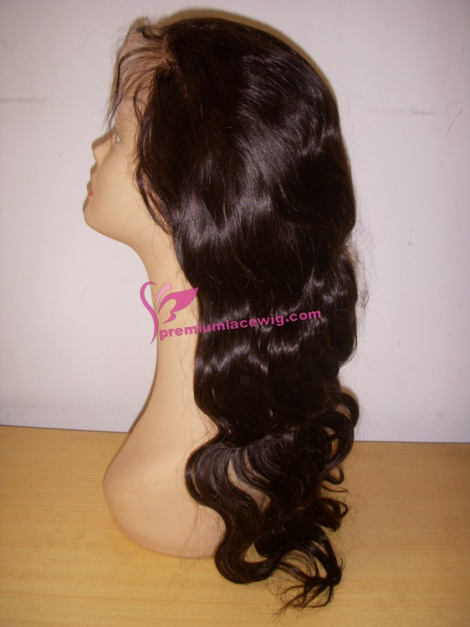 20inch 1b# body wave full lace wig PWS371