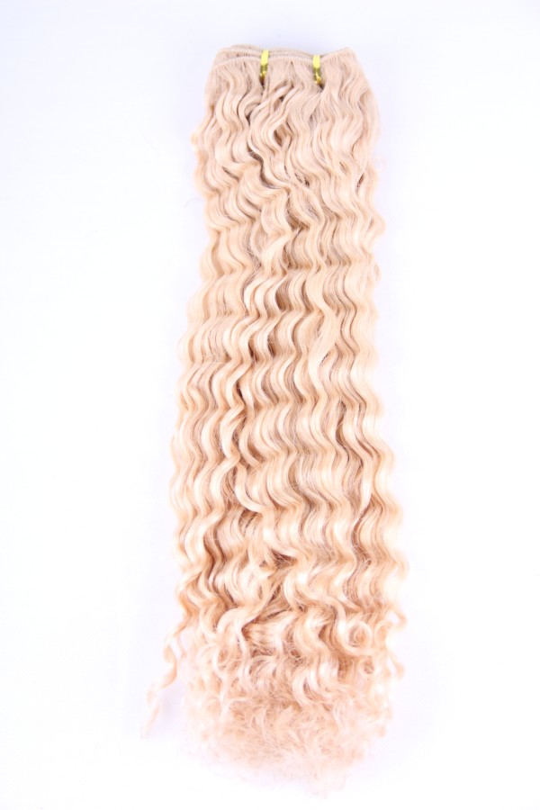 20inch Brazilian Blonde deep wave hair weft PWC285