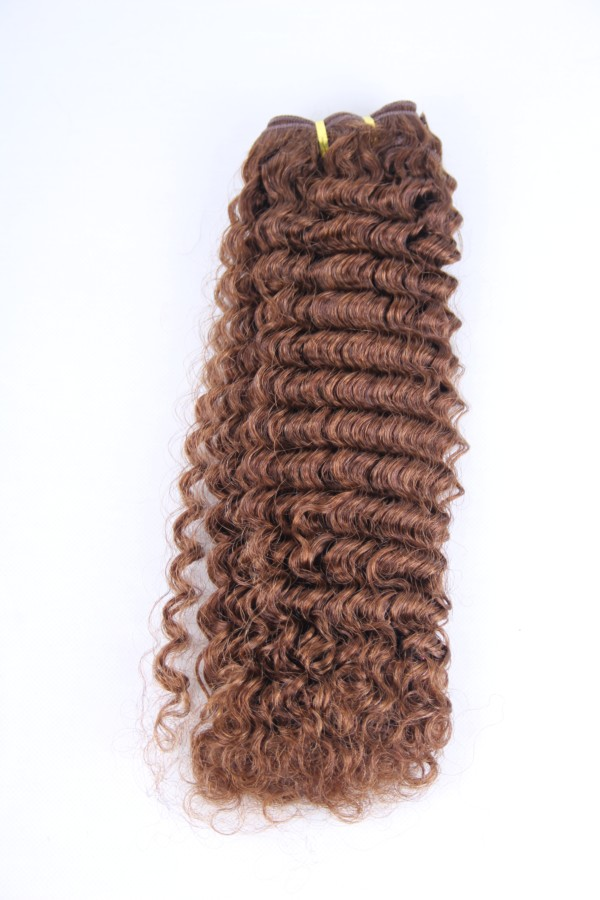 20inch 4# deep wave hair weft PWC284