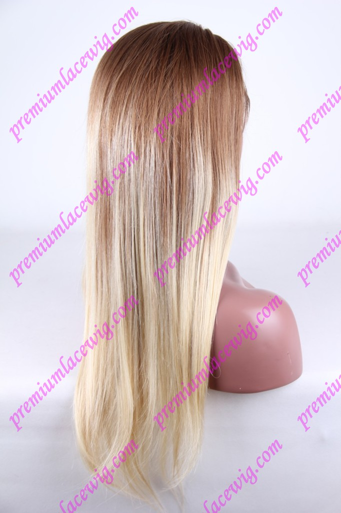 20inch Brazilian human hair wig Root color 6 PWC1240