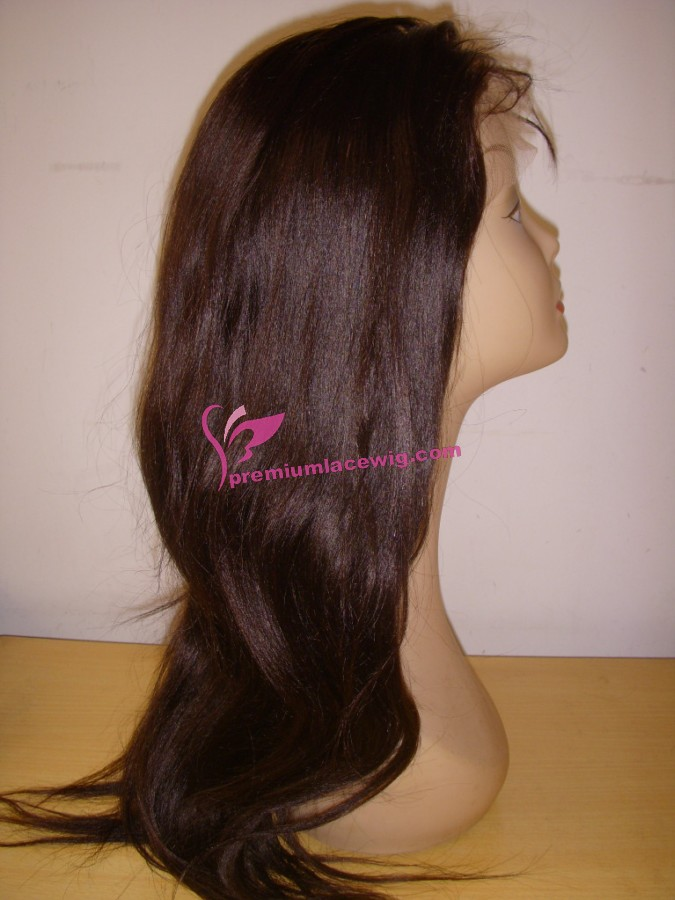 20inch color2 light yaki full lace wig PWS370