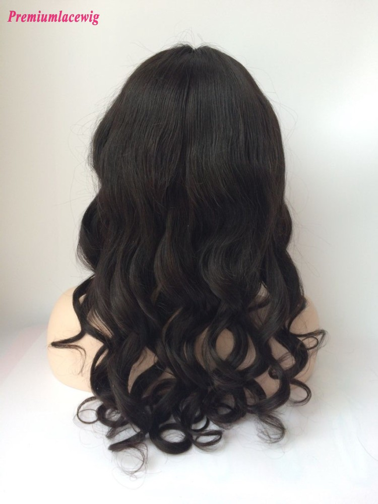20inch Loose Wave Brazilian Virgin Hair Full Lace Human