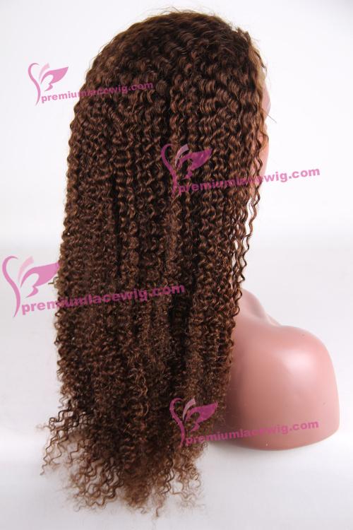 22 inch color 4 Brazilian Kinky Curly hair