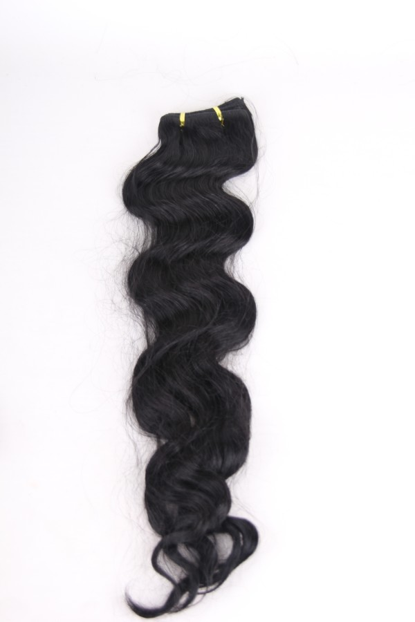 22inch 1# Peruvian body wave hair weft PWC286