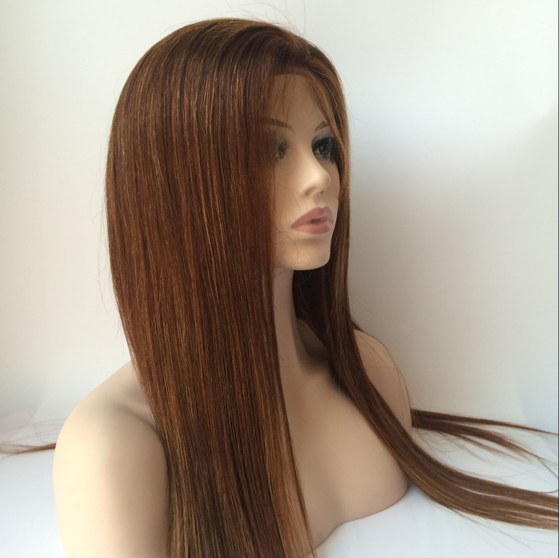 22inch Color4 With Small Highlight 27 Brazilian Hair