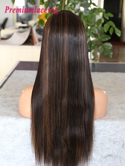 Virgin Brazilian Remy Human Hair Full Lace Wig