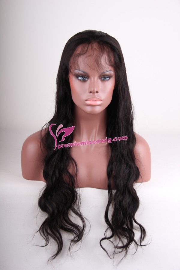 26inch 1b# body wave full lace wig PWC267
