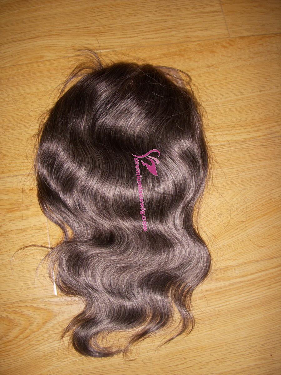 8inch color 2 men toupee PWC437