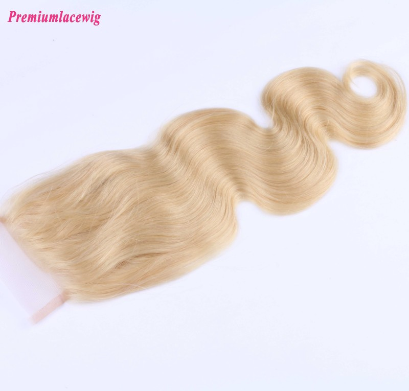 Body Wave Lace Closure Peruvian Hair Color613 12inch