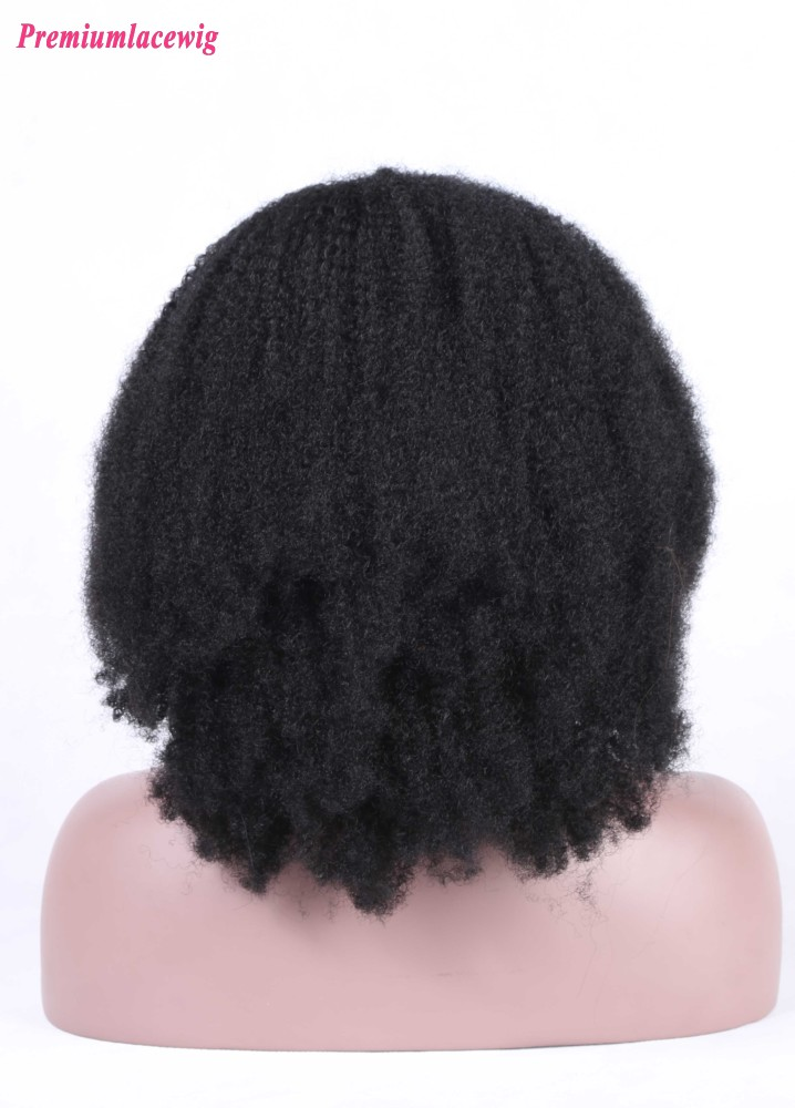 brazilian curly full lace wig hair 150 hair density 16inch