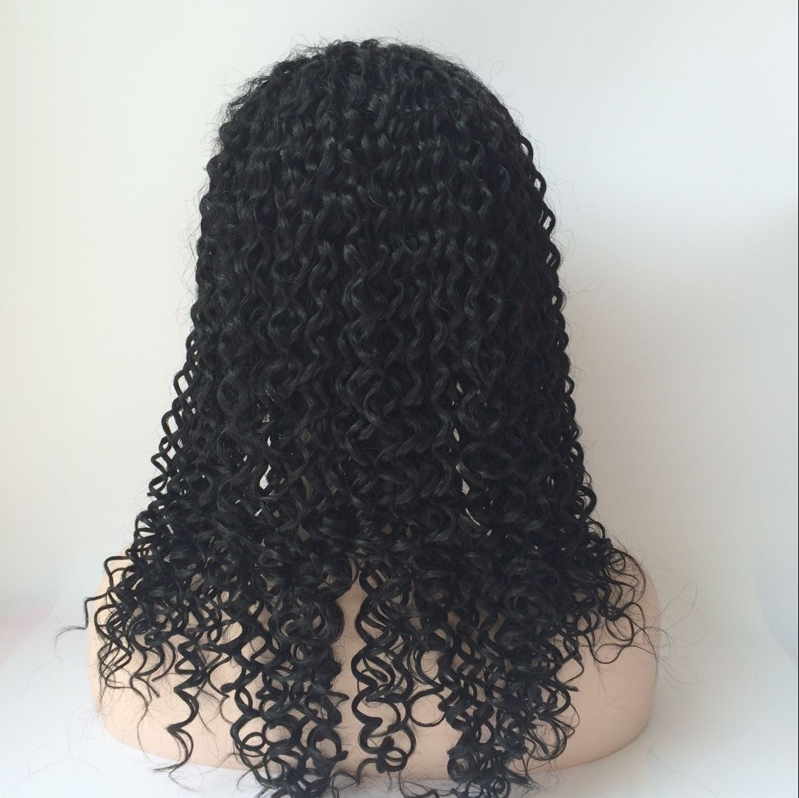 brazilian deep curly full lace wig 18inch