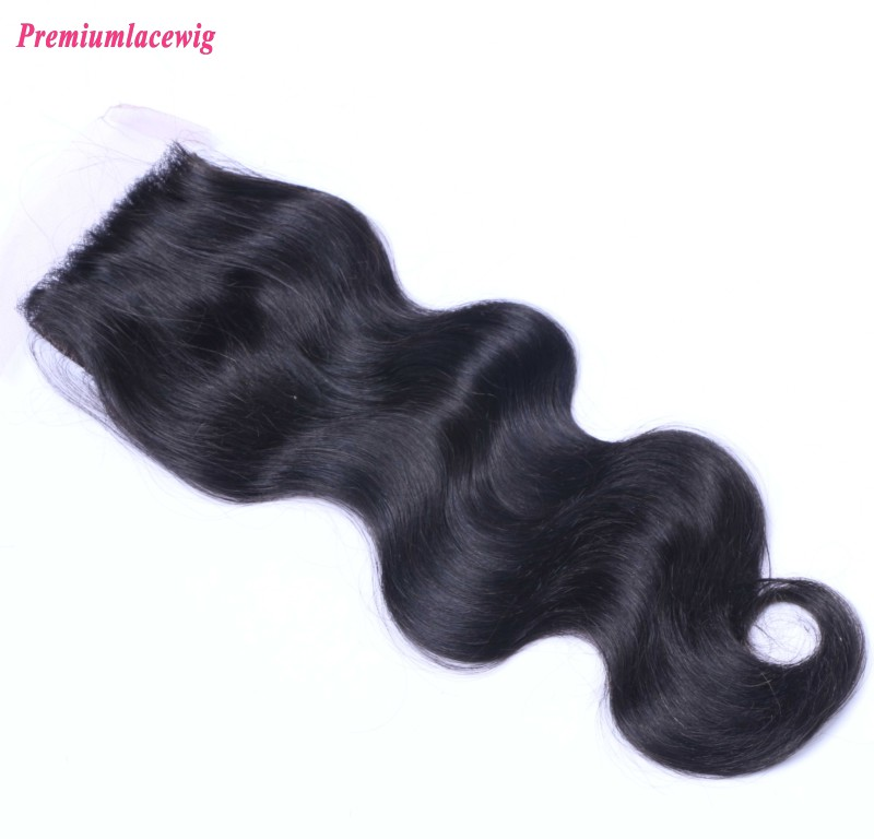 Brazilian Hair Lace Closure Free Part Body Wave 14inch