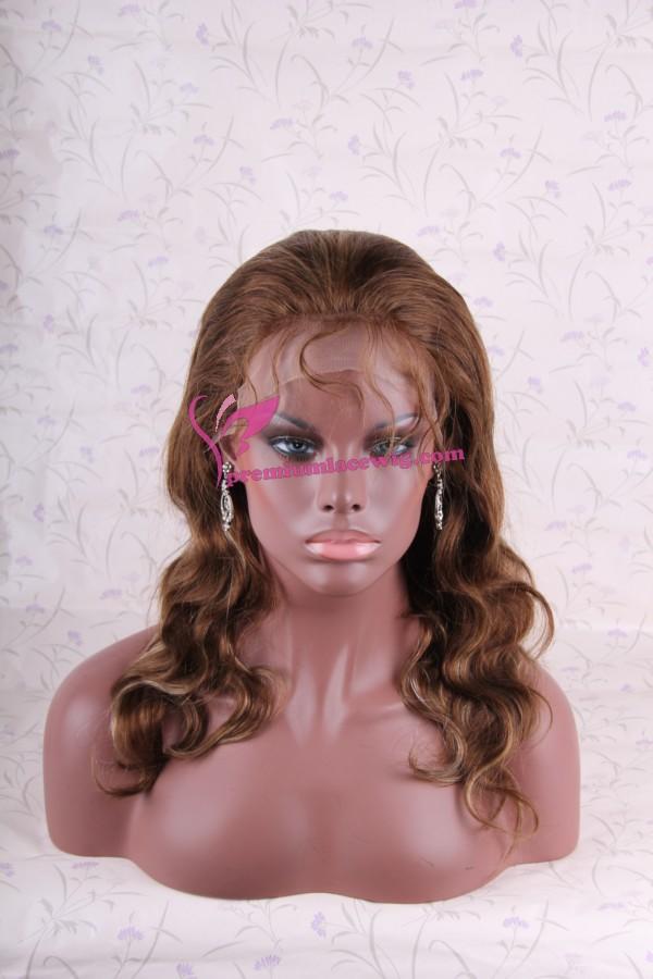 Cheap glueless full lace wig PWC138