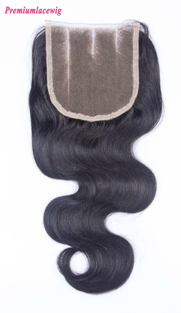 Chinese Lace Closure Body Wave Three Part 14inch