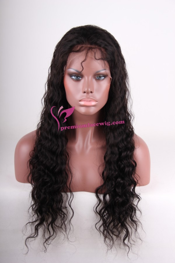 Deep wave full lace wig PWS231