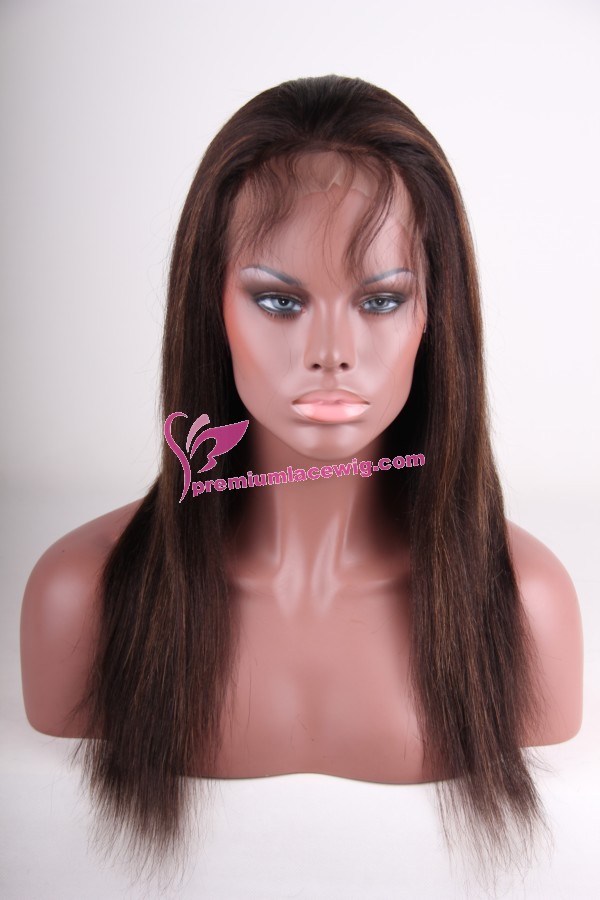 lace wigs hightlight color PWC074