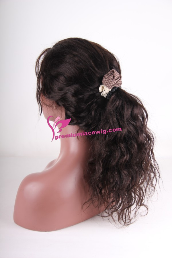 Body Wave Human Hair Full lace wig Peruvian 20inch