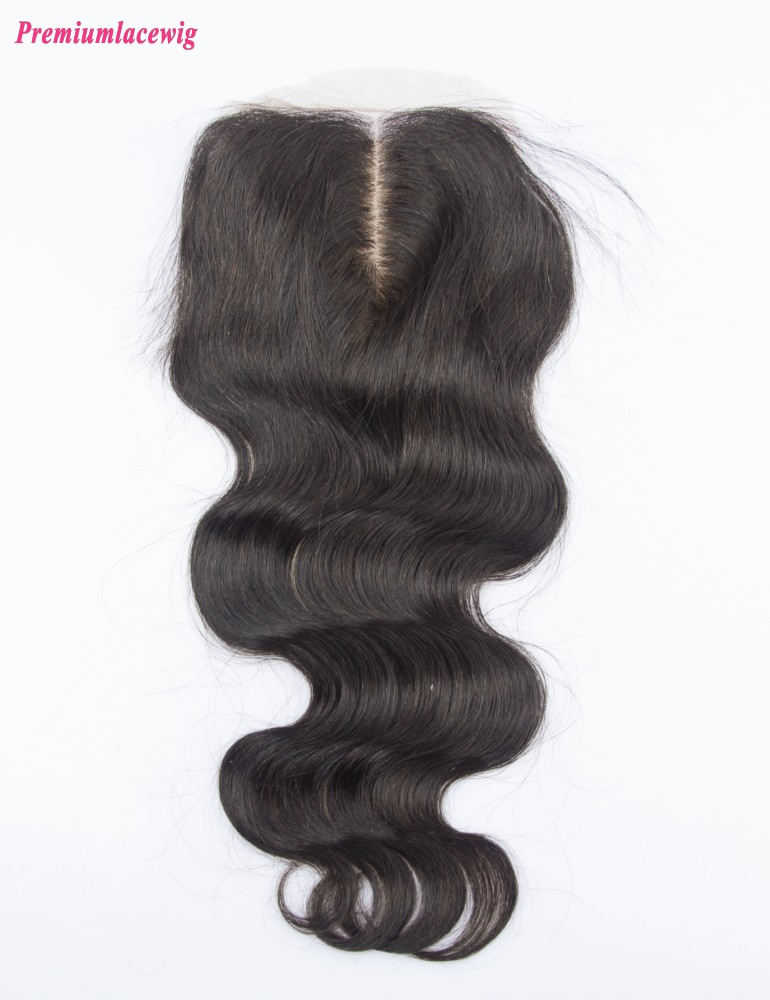 Malaysian Body Wave Silk Base Closure 14inch
