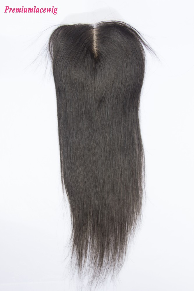 Malaysian Hair Silk Base Closure Straight 16inch