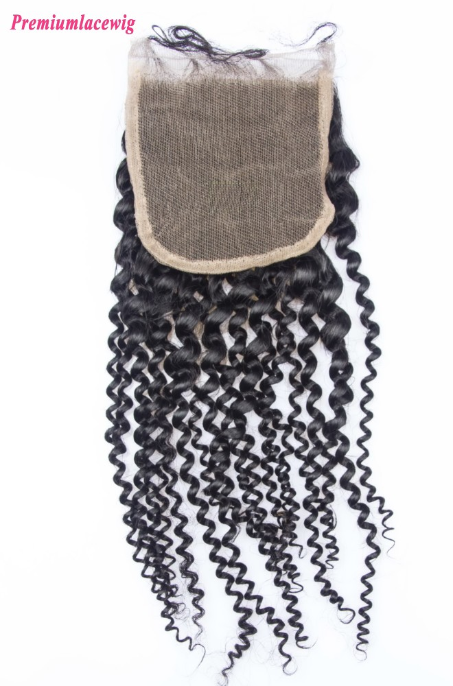Mongolian Lace Closure Kinky Curly 16inch