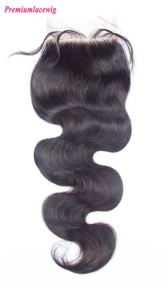 Peruvian Body Wave Lace Closure Free Part 14inch