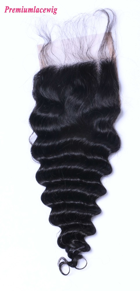 Peruvian Hair Lace Closure Deep Wave 12inch
