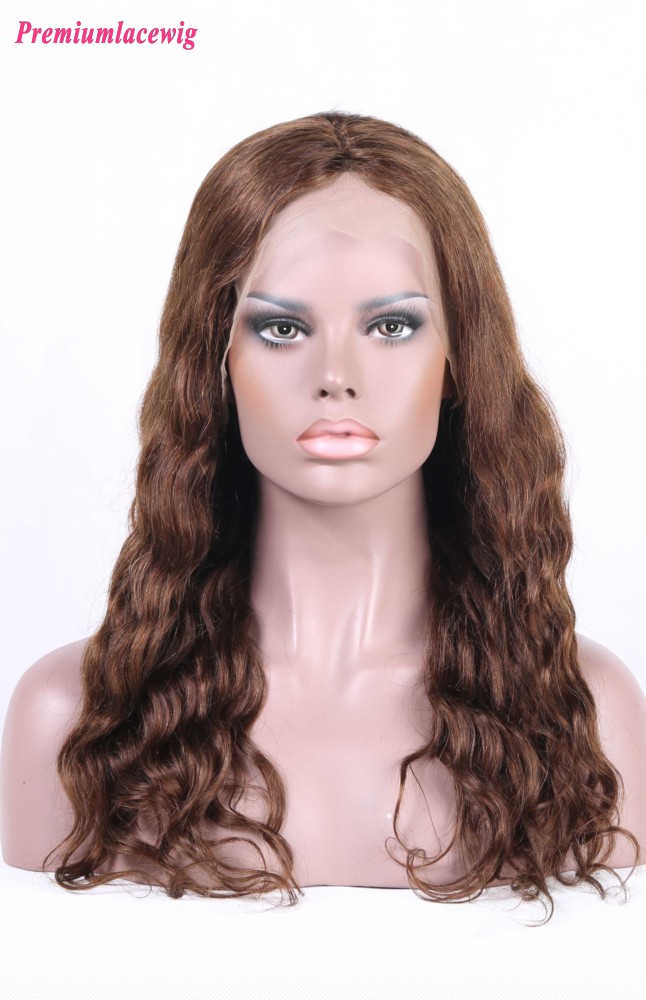 Silk Top Full Lace Wig Malaysian Loose Deep Wave Hair